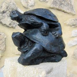 tortues, cm 18x15x11